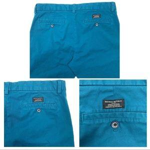 Banana Republic Pants - 50% OFF Banana Republic Fulton Skinny Blue Pants